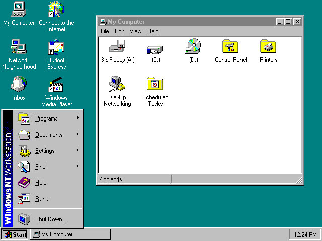 Windows NT 4.0 Launched
