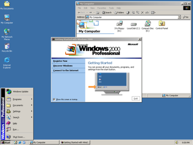 Windows 2000 Launched