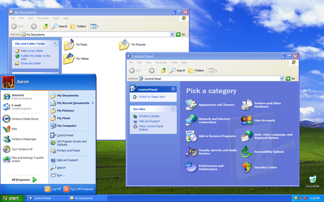 Windows XP Launched