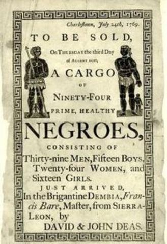 The slave trade in the late 19th Century