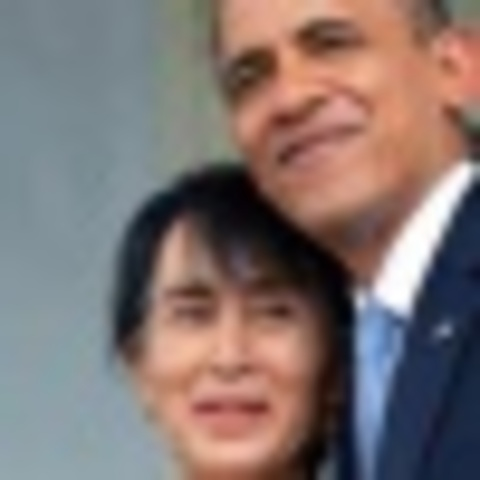 Barack Obama ( first trip to Burma Ever been )
