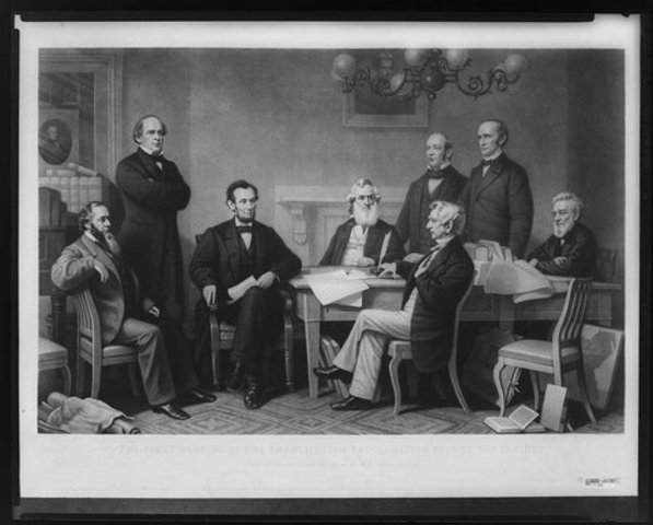 Lincoln Abolishes Slavery In Columbia.