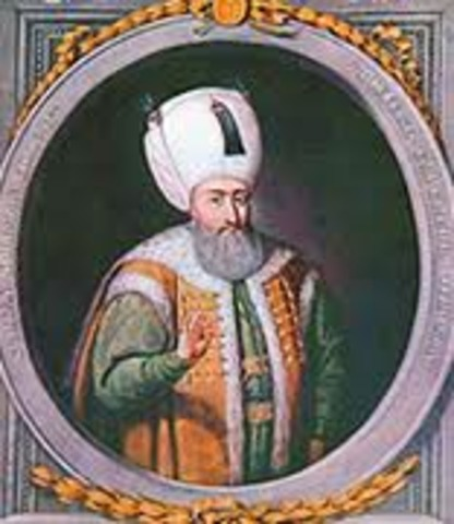 Reing of Suleiman the Magnificent