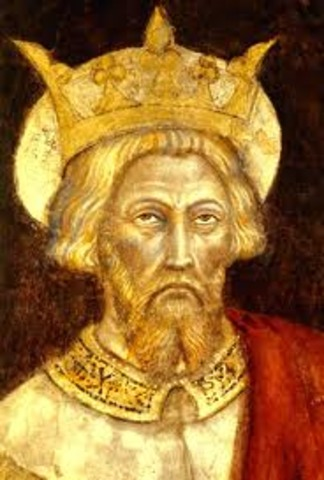 Coronation of Charlemagne as Holy Roman Emperor