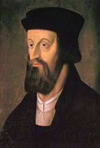 Jan Hus is born