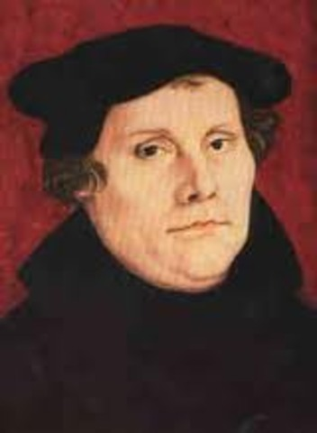 Martin Luther is born