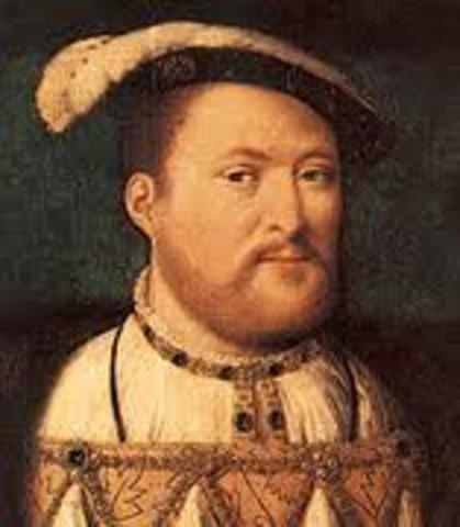 Henry VIII is born