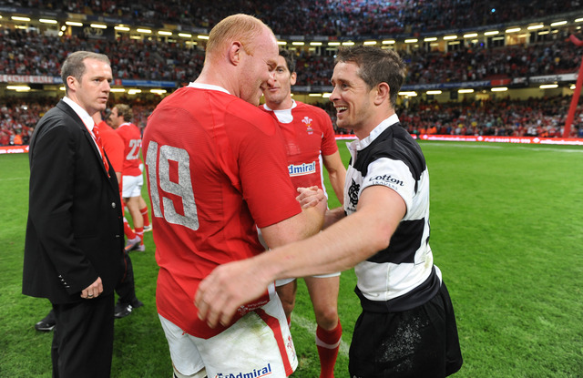 Goodbye to Shane and Martyn in Barbarians win
