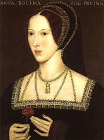 Henry VIII marries Anne Boleyn