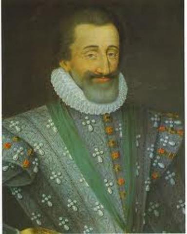 Henry IV assassinated