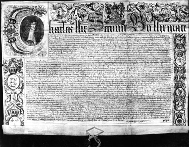 William Penn is granted a Charter for the colony of Delaware