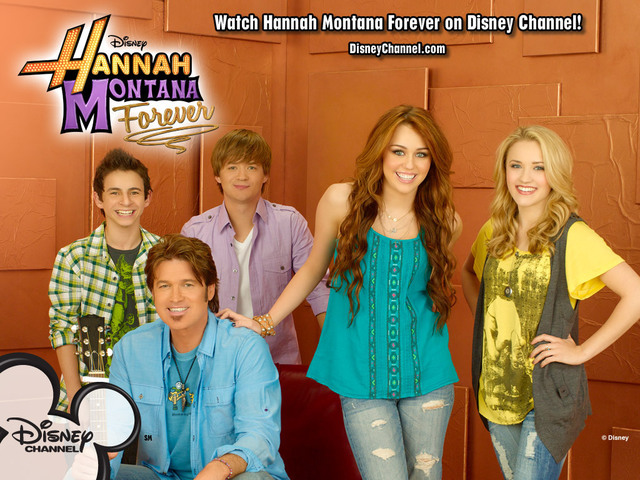 she stared as Hannah on the tv series Hannah Montana which ran for 5 years