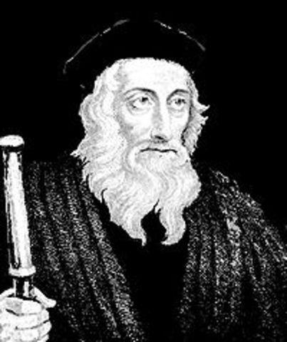 John Wycliffe Dies