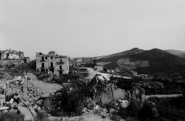 Sicily earthquake victims