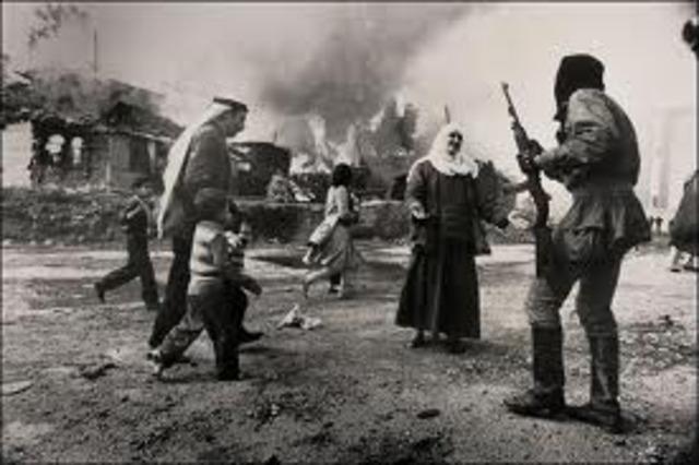 Lebanese Civil War refugees