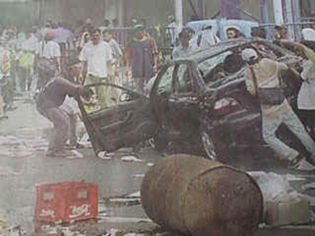 Jakarta riots refugees