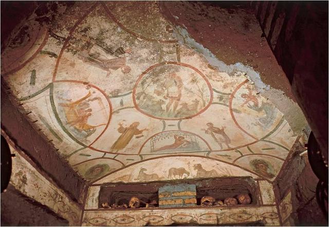 The Good Shepherd (in Catacombs)