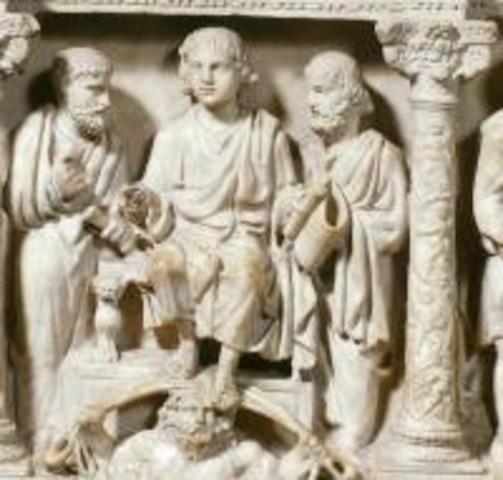 Christ Enthroned- Junius Bassus