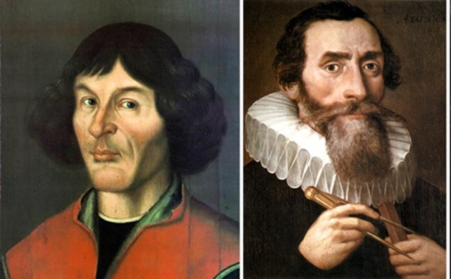 Copernicus and Kepler