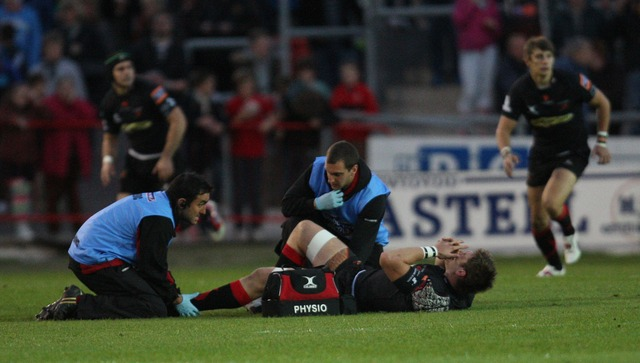 Dan Lydiate suffers serious ankle injury