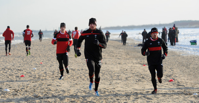 Wales begin pre-Six Nations training camp in Poland