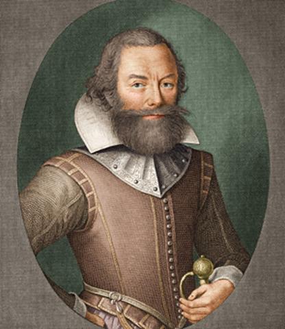 CAPT John Smith founds Jamestown (Virginia colony)