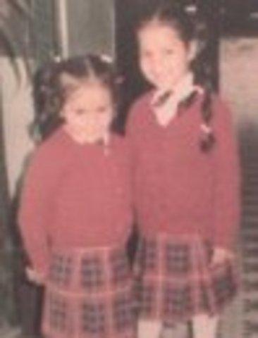 Ingrese al colegio junto a mi hermana
