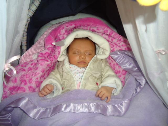 Nace mi primita Rebeca
