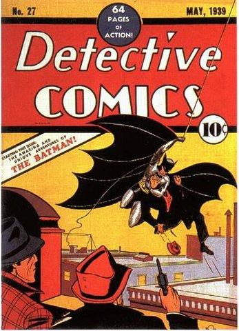 Première apparition dans Detective Comics #27