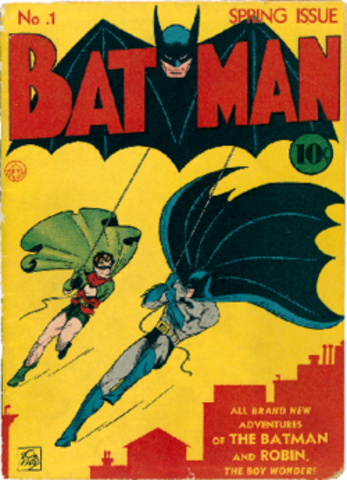 Le personnage devient très populaire . Création de son propre titre «Batman».