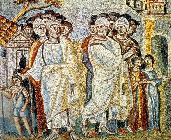 Parting of Lot & Abraham (Nave of Santa Maria Maggiore)