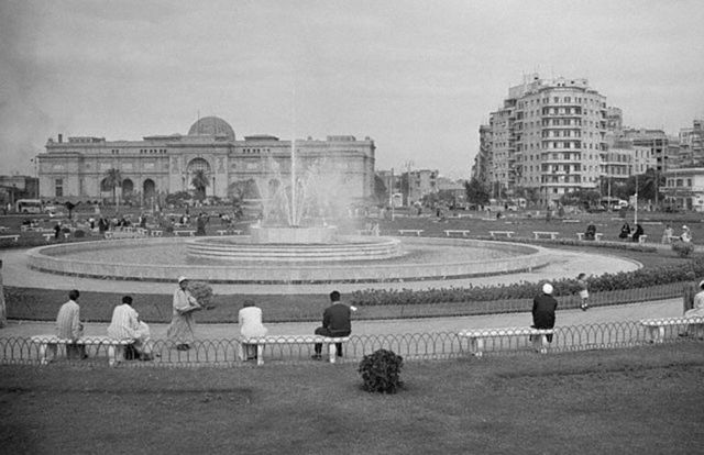 The Liberation square in 1962