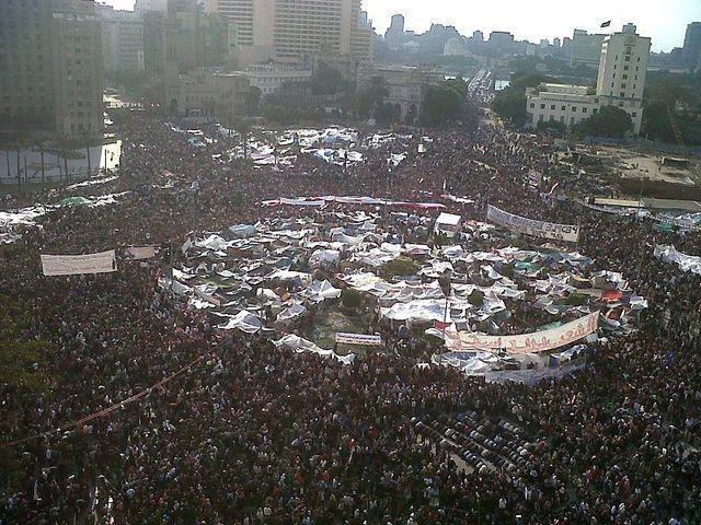 Massive demonstrations