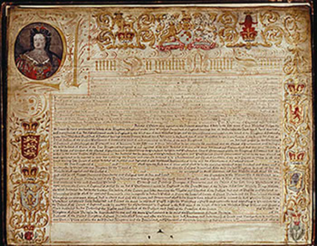 Act of Unions unites England and Scotland
