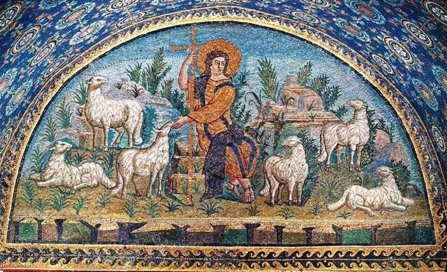 Christ as Good Shepherd (Ravenna, Italy)