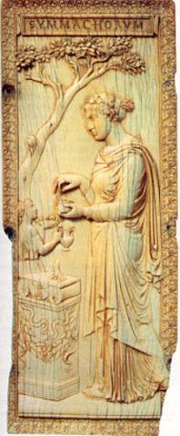 Priestess Celebrating the Rites of Bacchus