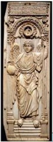 Saint Michael the Archangel (ivory)