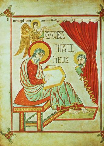 Saint Matthew Page (Book of Lindisfarne)