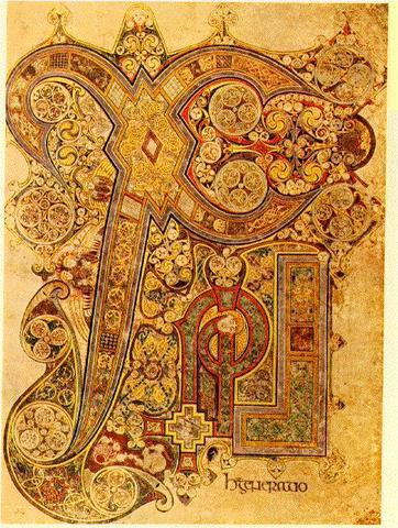 Chi-Rho-Iota (Book of Kells)