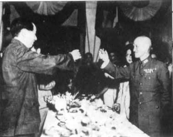 Mao's Meeting with Chinag