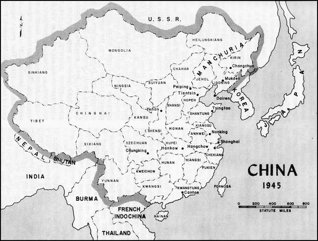 Soviet forecs left Manchuria