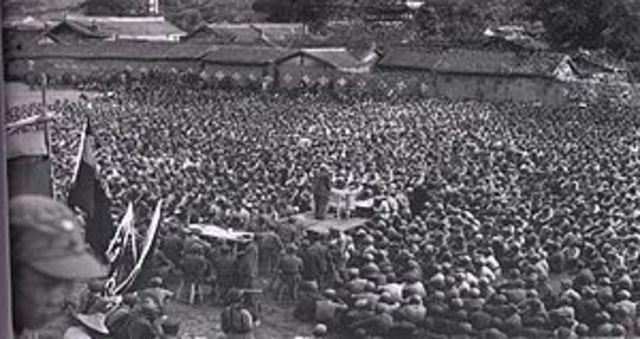CCP strategic occupation of Chungchun