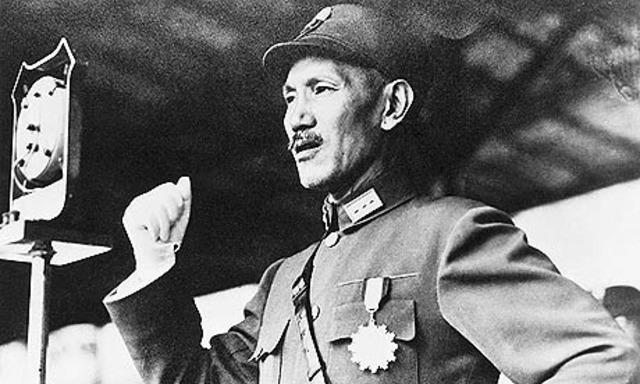 Chiang Kai Shek elected as president
