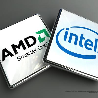 INTEL I AMD timeline