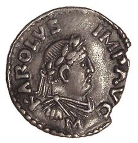 Charlemagne Made Holy Roman Emperor