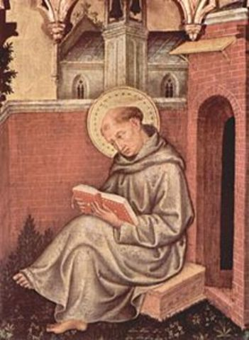 Thomas Aquinas born