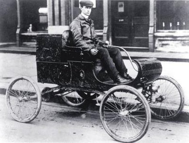 First Production Automobile in United States