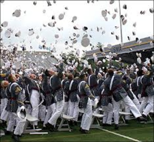 Gradutating from West Point