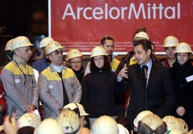 Sarkozy va au charbon