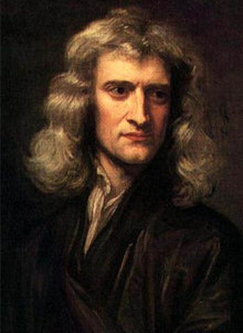 Sir Isaac Newton born